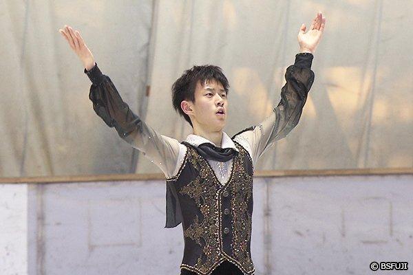 11月11日BSフジで放送のフィギュアスケートTVで西日本選手権に出場した山本草太選手の演技をノーカットで放送決定