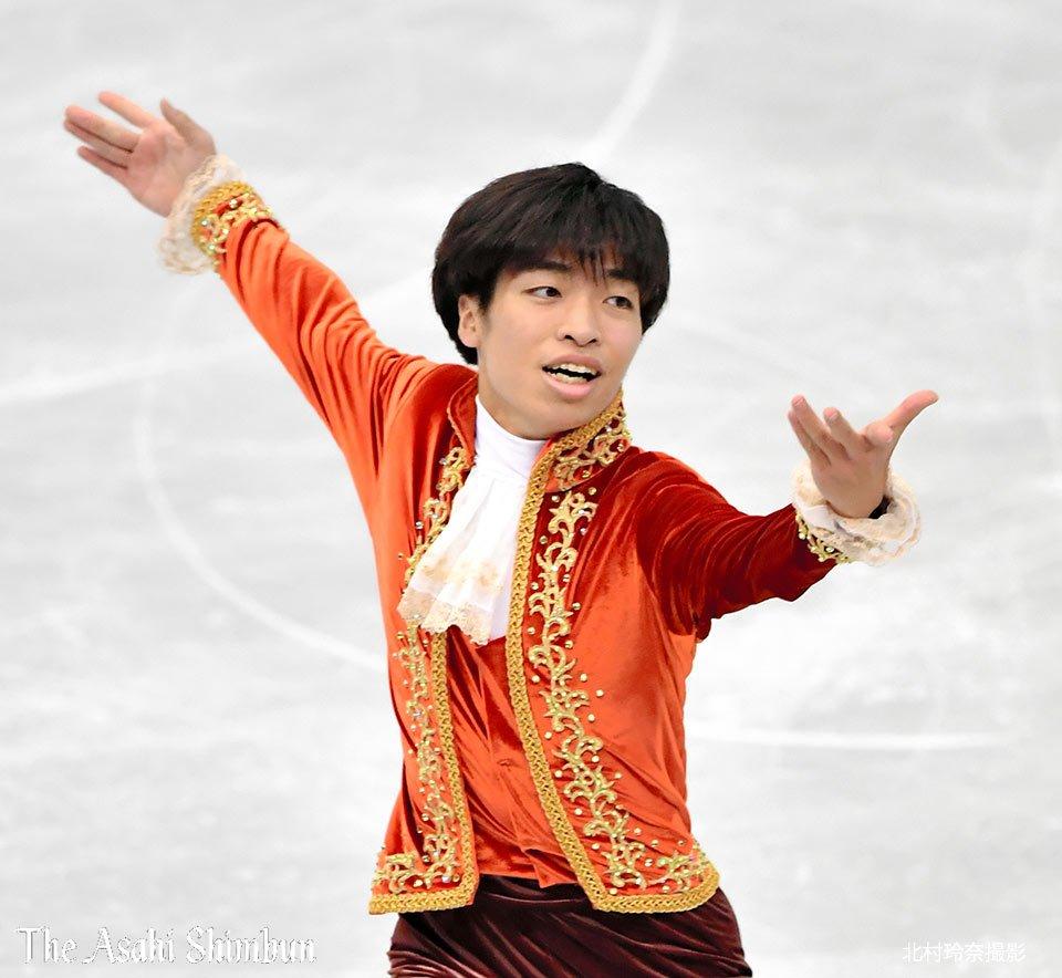 岩手県出身で国立大生スケーターの佐藤洸彬。来年の春には大学院に進学し「フィギュアについて研究したい」