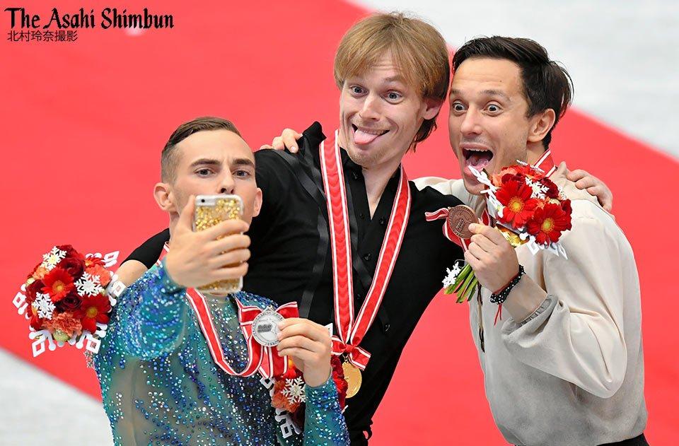 NHK杯2017。30歳セルゲイ・ボロノフが会心の演技でGP初優勝