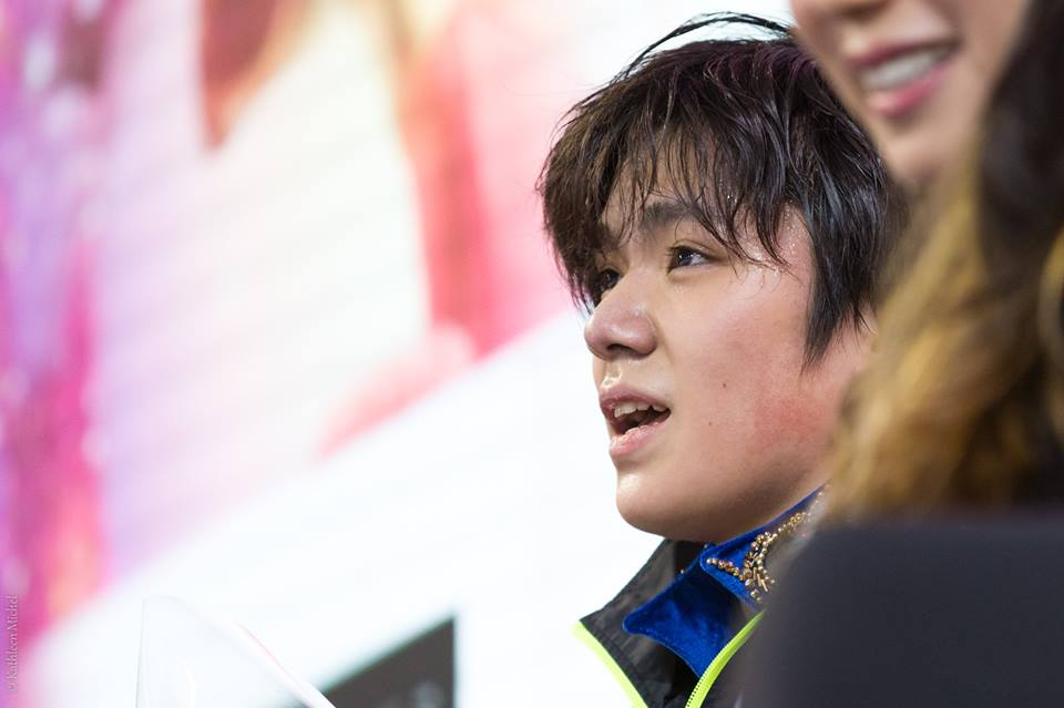日本人男子で唯一宇野昌磨選手が出場するグランプリファイナル名古屋でリンナイ株式会社がスポンサーに