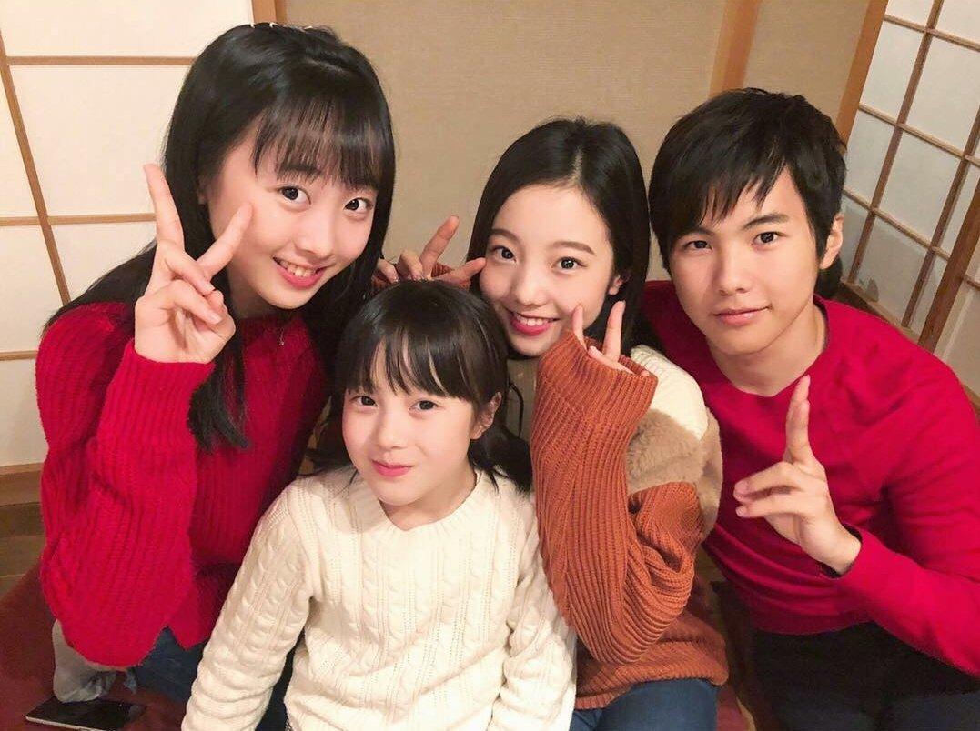 本田3姉妹集合。美男美女。みんな可愛すぎてヤバい。