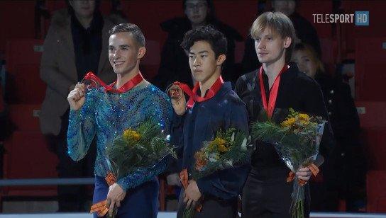 スケートアメリカ2017。男子FS優勝はネイサン・チェン。 無良崇人は7位でフィニッシュ