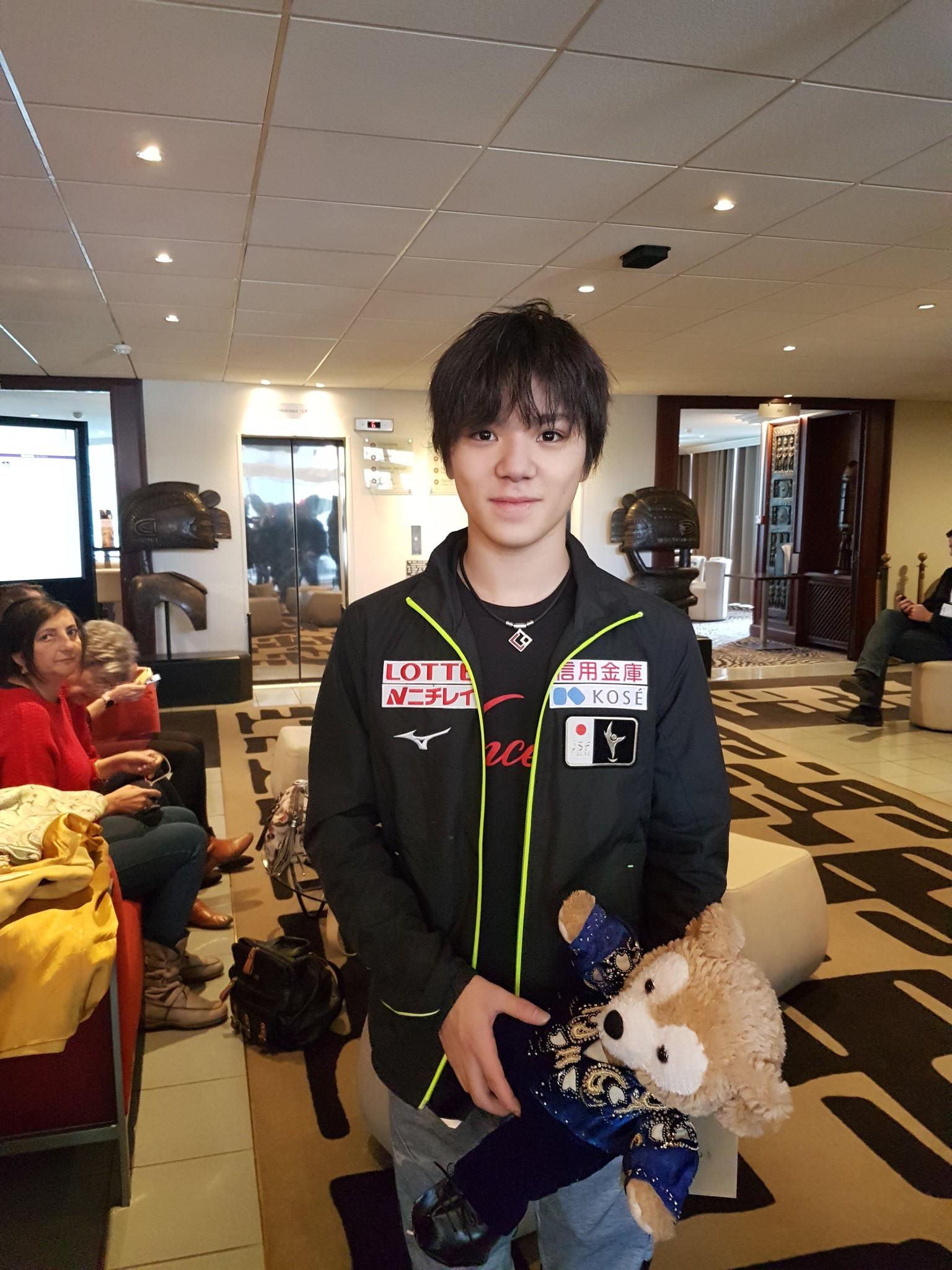 日本で開催されるGPファイナルについて宇野昌磨「お客さんがあまり入らないんじゃないかな」と冗談を交わす