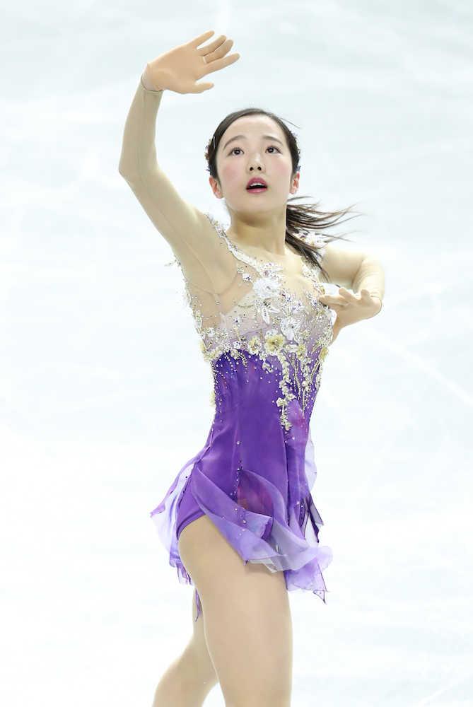 本田真凜が平昌へ意欲「家族やみんなの期待に応えたい」