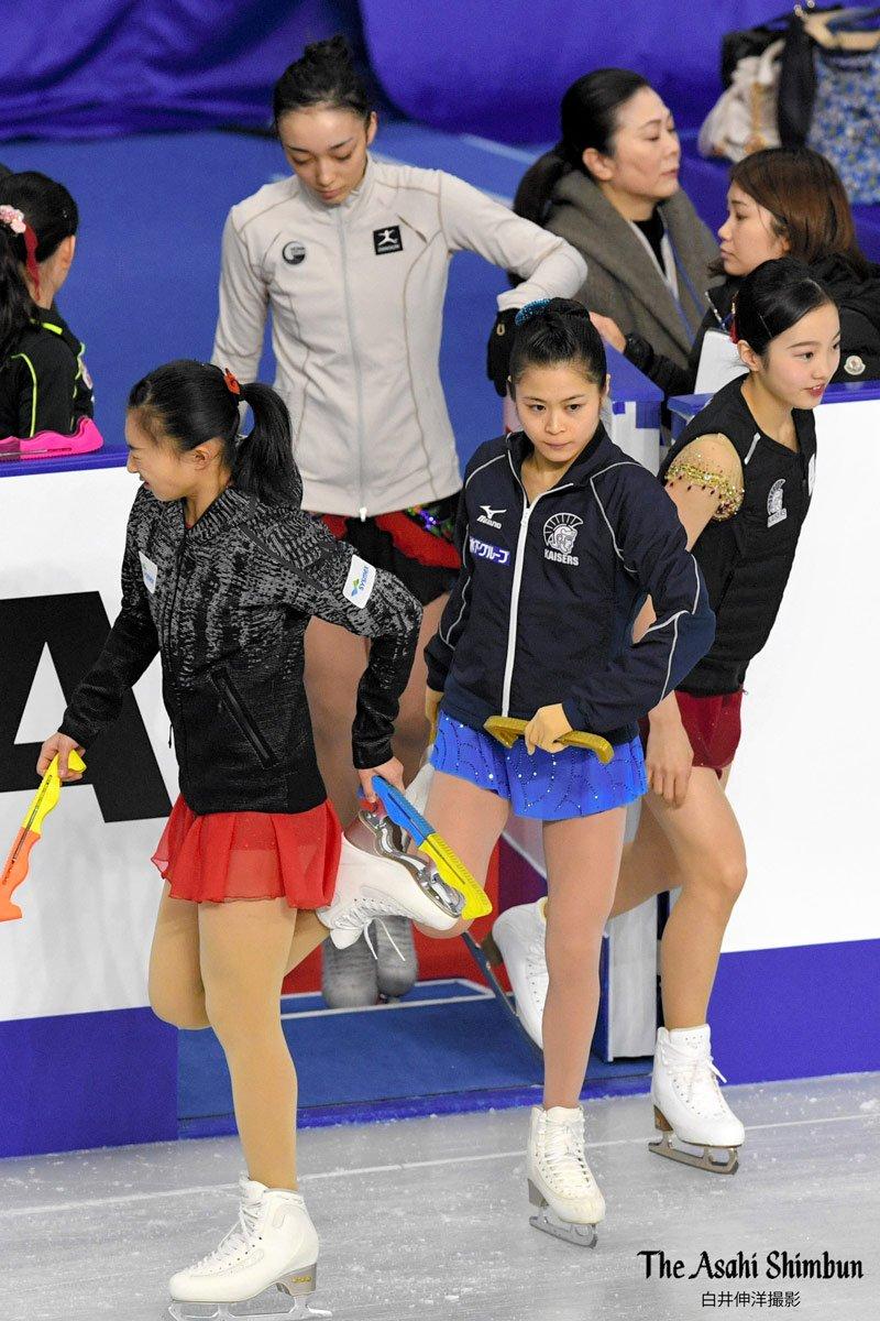 全日本選手権2017。宮原知子ら女子フリーへ最終調整。運命の2枠は誰の手に