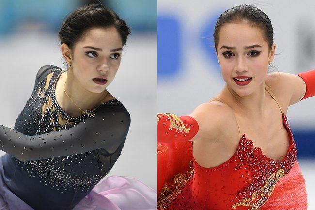 ロシアのフィギュア代表 女子はメドベージェワ、ザギトワ、ソツコワの3人