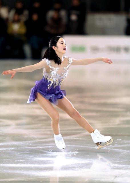 名古屋スケートフェスティバル。本田真凜が「気持ちを込めて」笑顔で2018年スタート&田中刑事や本郷理華が大人っぽい演技を披露し観客を魅了