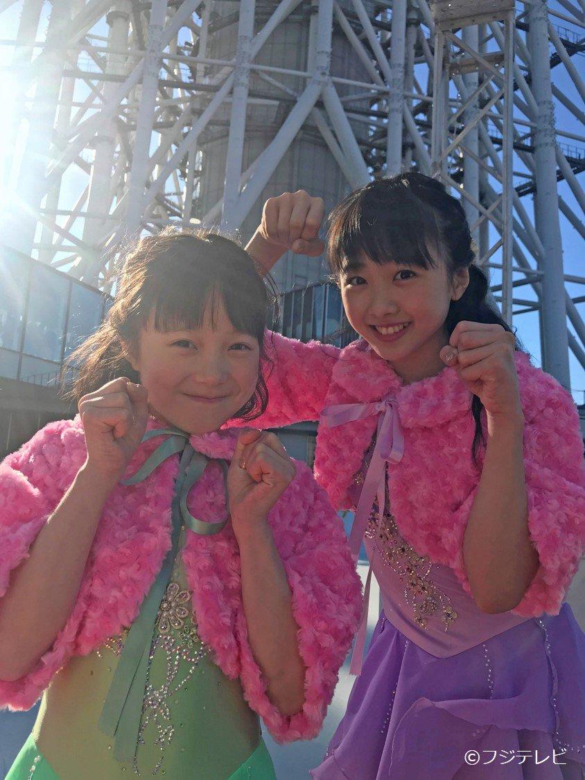 スカイツリーイベントで本田望結&紗来が初滑り「真凜お姉ちゃんといつか戦うのが夢」