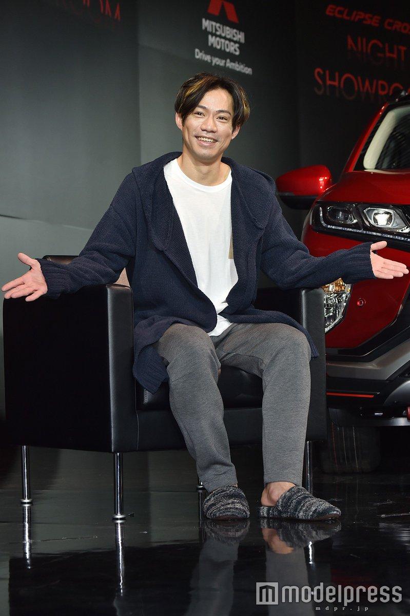 イベントに参加した高橋大輔が俳優挑戦について聞かれ「無理です! 滑舌悪くて」