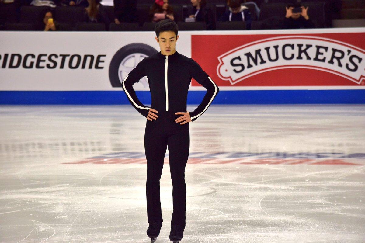 シンプルで斬新!ネイサン・チェンのSP新衣装を公開!