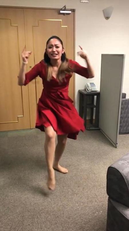 安藤美姫が指パッチンのギネス記録に挑戦するも挫折。「4回転ジャンプは簡単だったのに・・・」