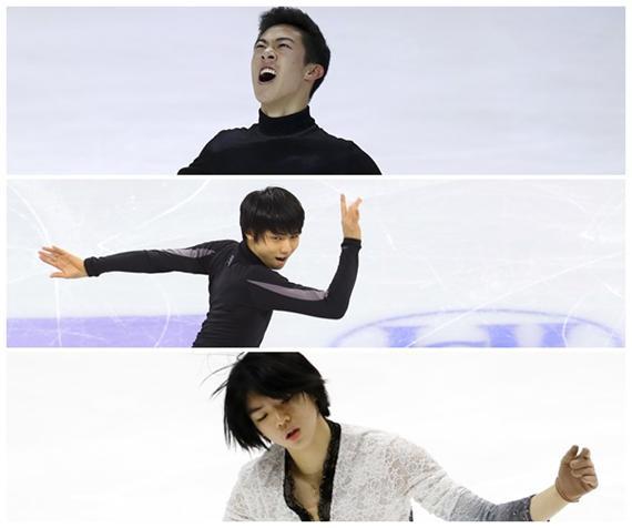 日米韓の男子フィギュア三国志。韓国の記事で羽生結弦選手が特集される