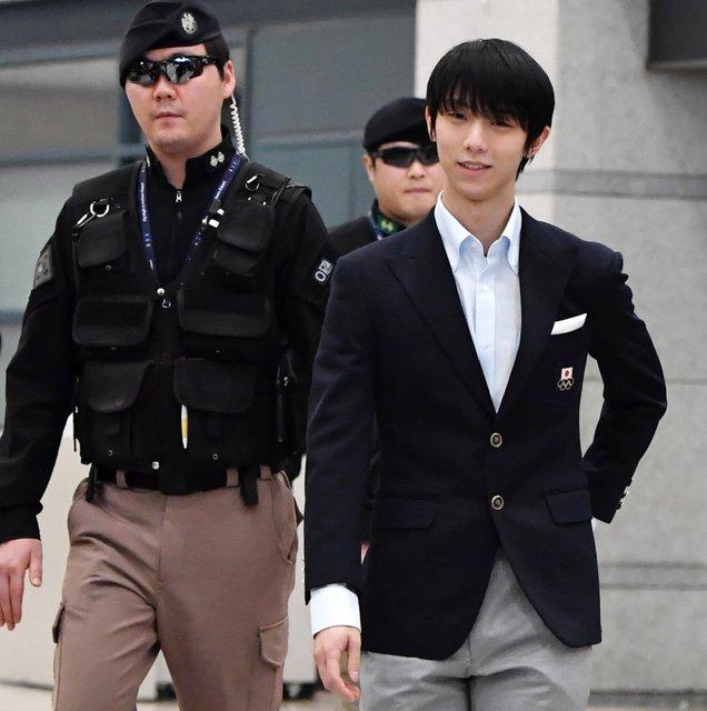 韓国に到着した羽生にファンから「痩せた?」という心配の声が多数上がる。
