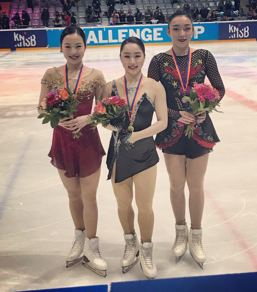 フィギュアスケート チャレンジカップは日本人表彰台独占!優勝は樋口新葉