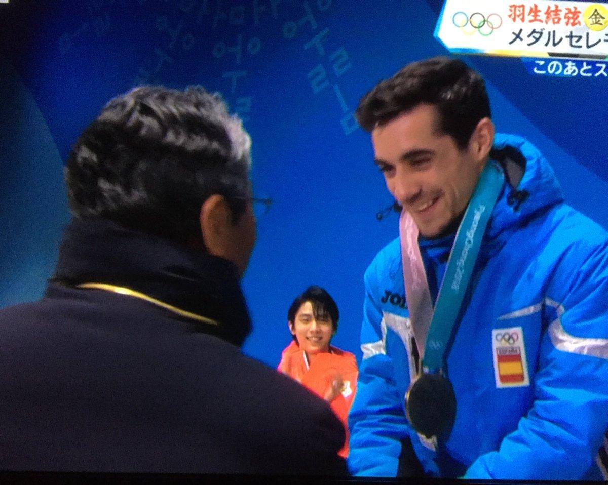 銅メダルのハビエルフェルナンデス 最初で最後の銅 「たぶん、これが僕の最後の五輪になる」