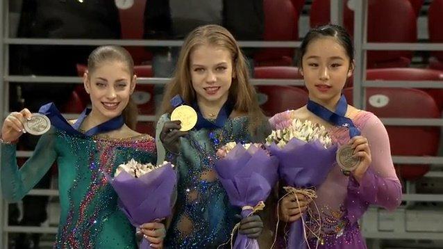 ジュニア世界選手権2018 女子結果まとめ!トルソワが女子初の2クワド成功