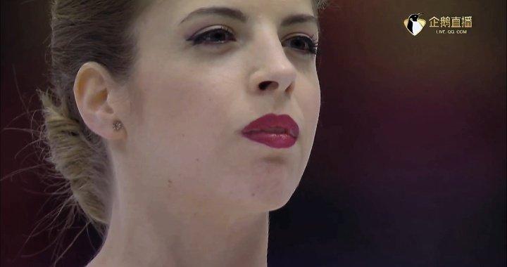 """コストナー、完璧演技の""""余韻ショット""""に海外から反響続々 「その赤、美しいね」"""
