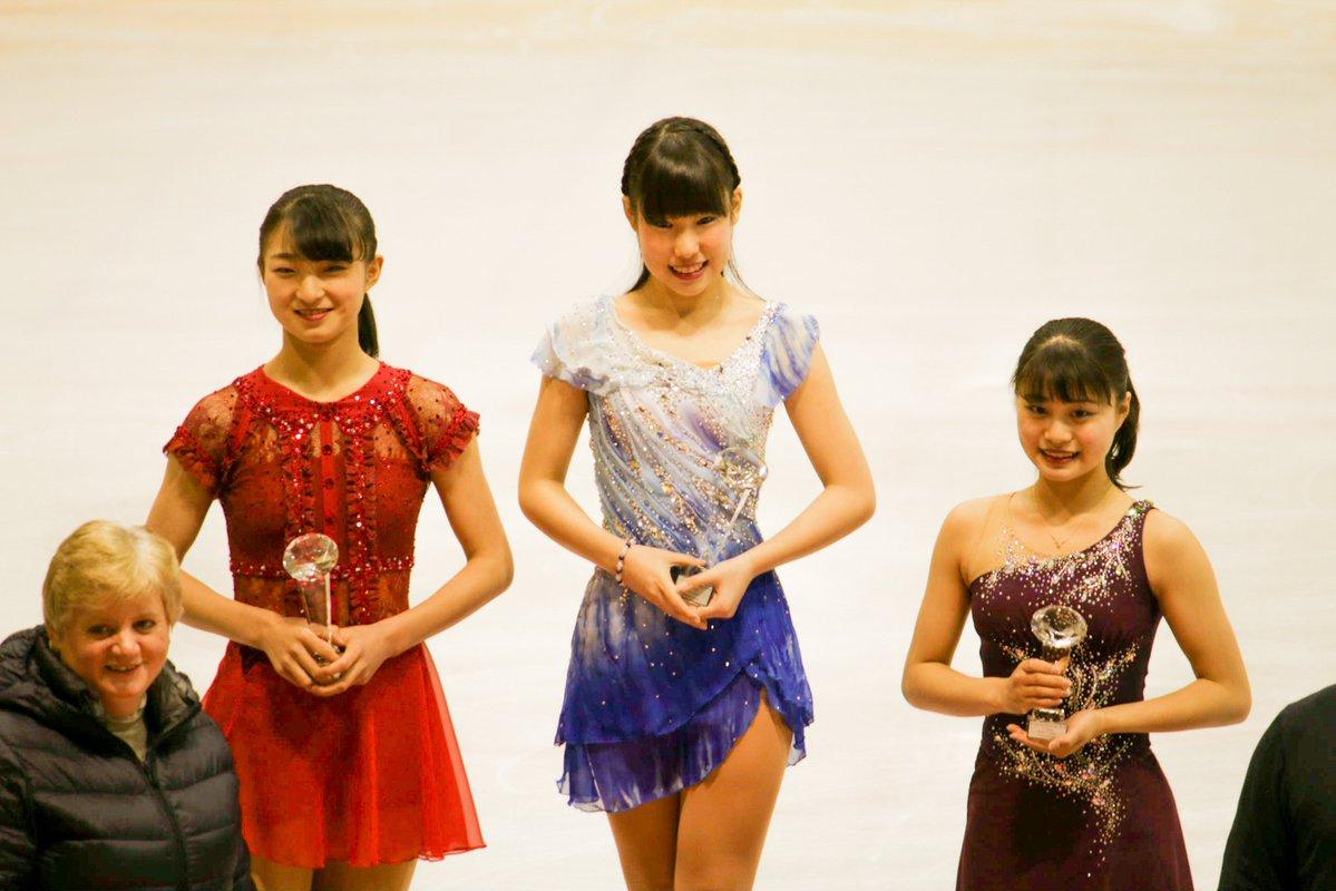 クープドプランタン 女子最終結果 日本女子が表彰台独占!