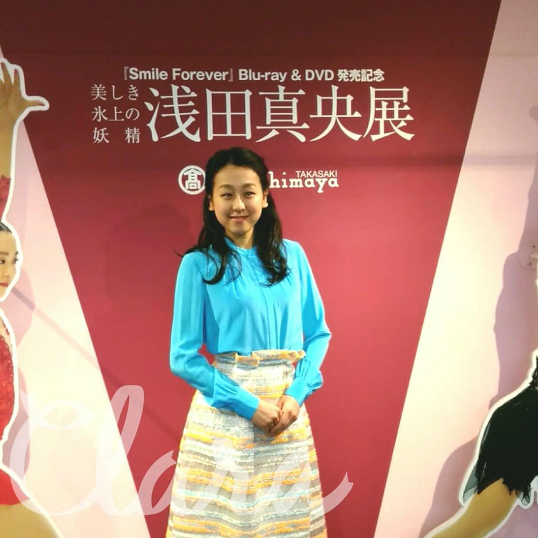 「群馬は初めて」浅田真央さん 浅田真央展にサプライズ登場に大騒ぎ!