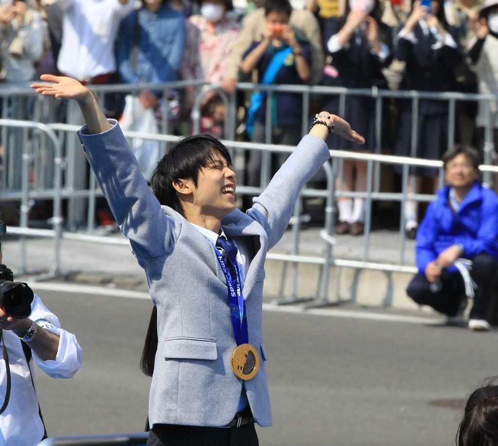 羽生選手パレードは4月後半で調整!4月は羽生祭り!