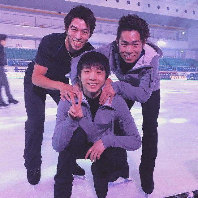 羽生くんにちょっと雑に扱われる日本人スケーターは羽生くんの大好きな懐いてる人でOK?