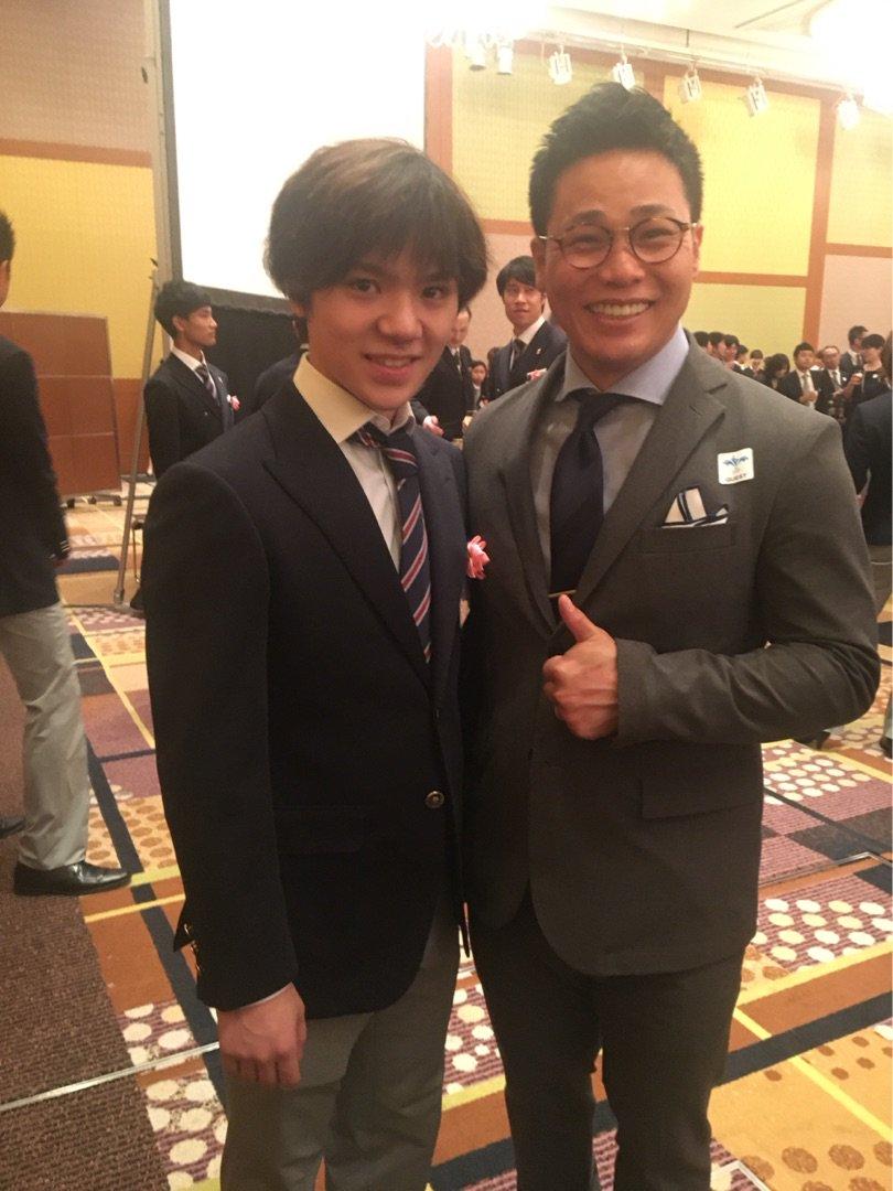 スケート連盟表彰祝賀会で宇野昌磨選手「僕、喋らない方がいいと思います」