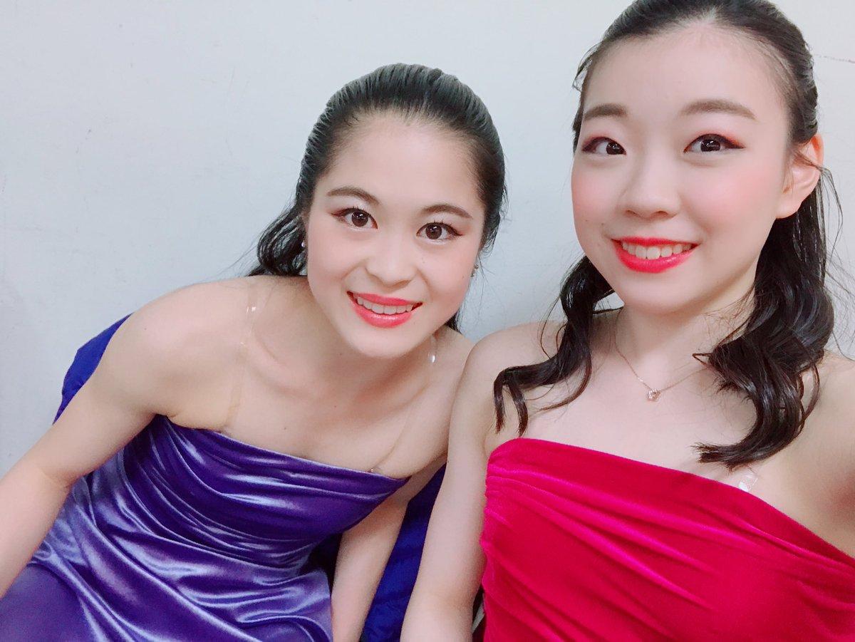 紀平梨花選手が宮原知子選手とのツーショット写真をアップ!2人とも可愛い!と大反響。