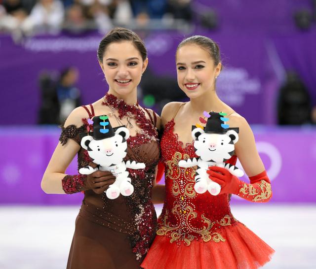 ザギトワ&メドベも ロシアスケート連盟が2018-19シーズンの強化選手を発表