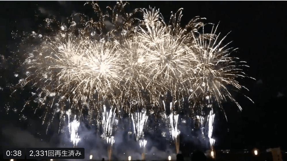 【動画有】前橋花火大会で「SEIMEI」に合わせて花火が打ち上げられる!
