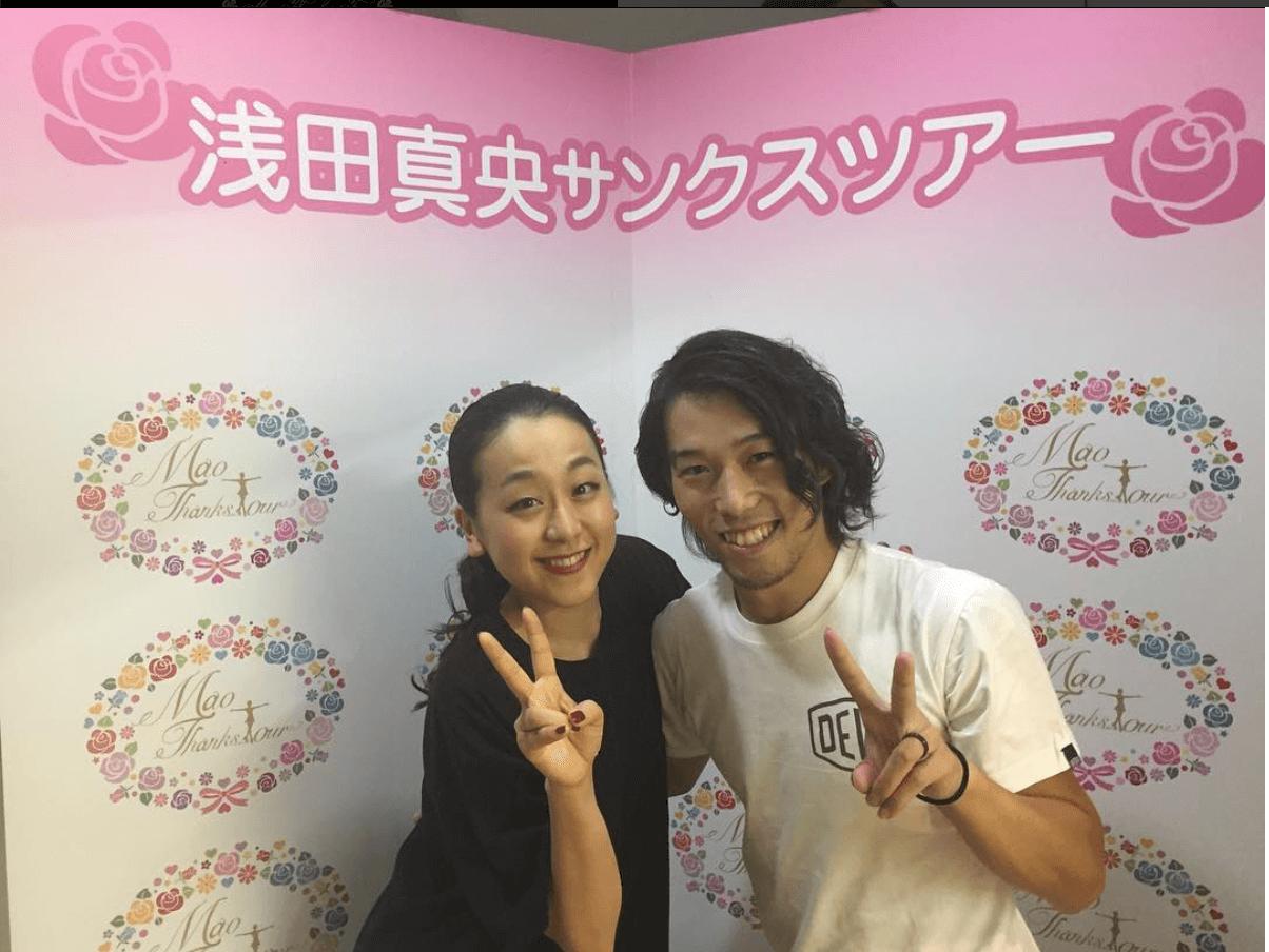 浅田真央がサンクスツアーのメンバーをインスタで続々紹介!
