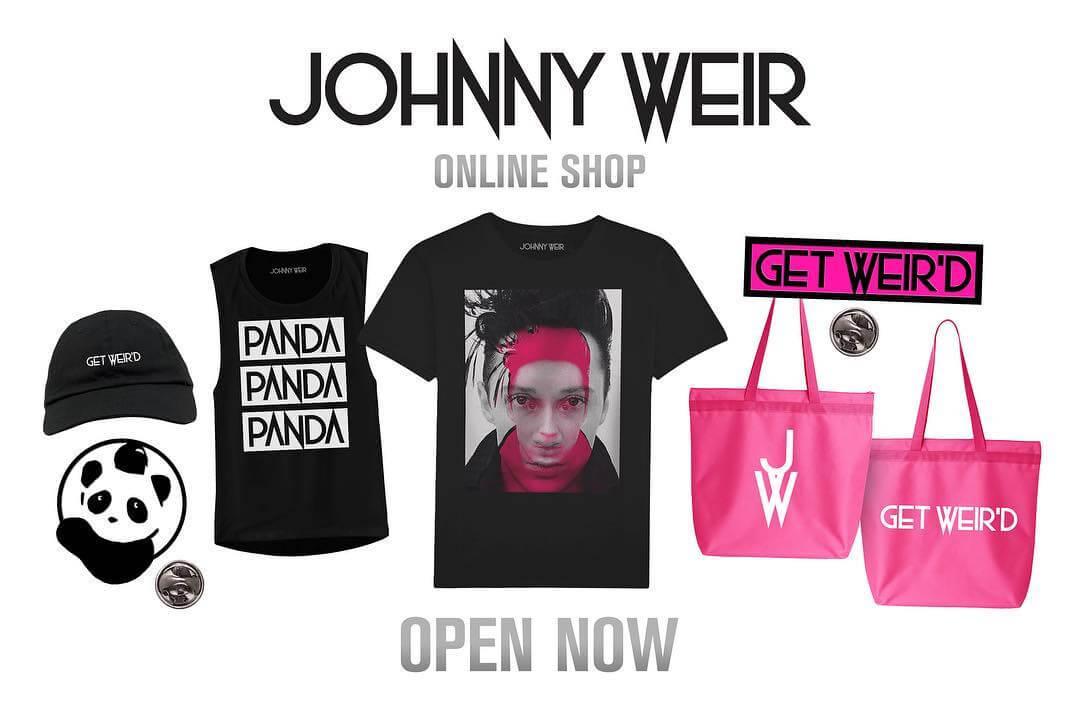 ジョニーの初めてのグッズオンラインショップ!熱いパンダ推しwww