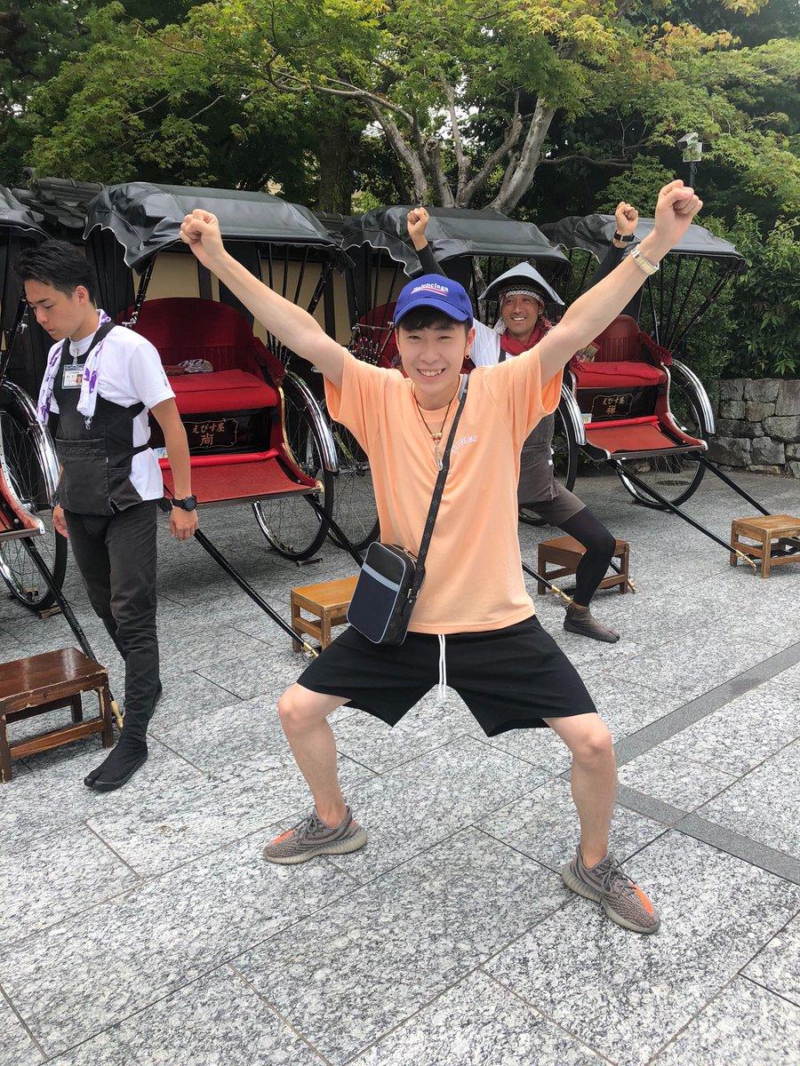 ボーヤン・ジンが凄く日本を楽しんでる!!画像、動画まとめ