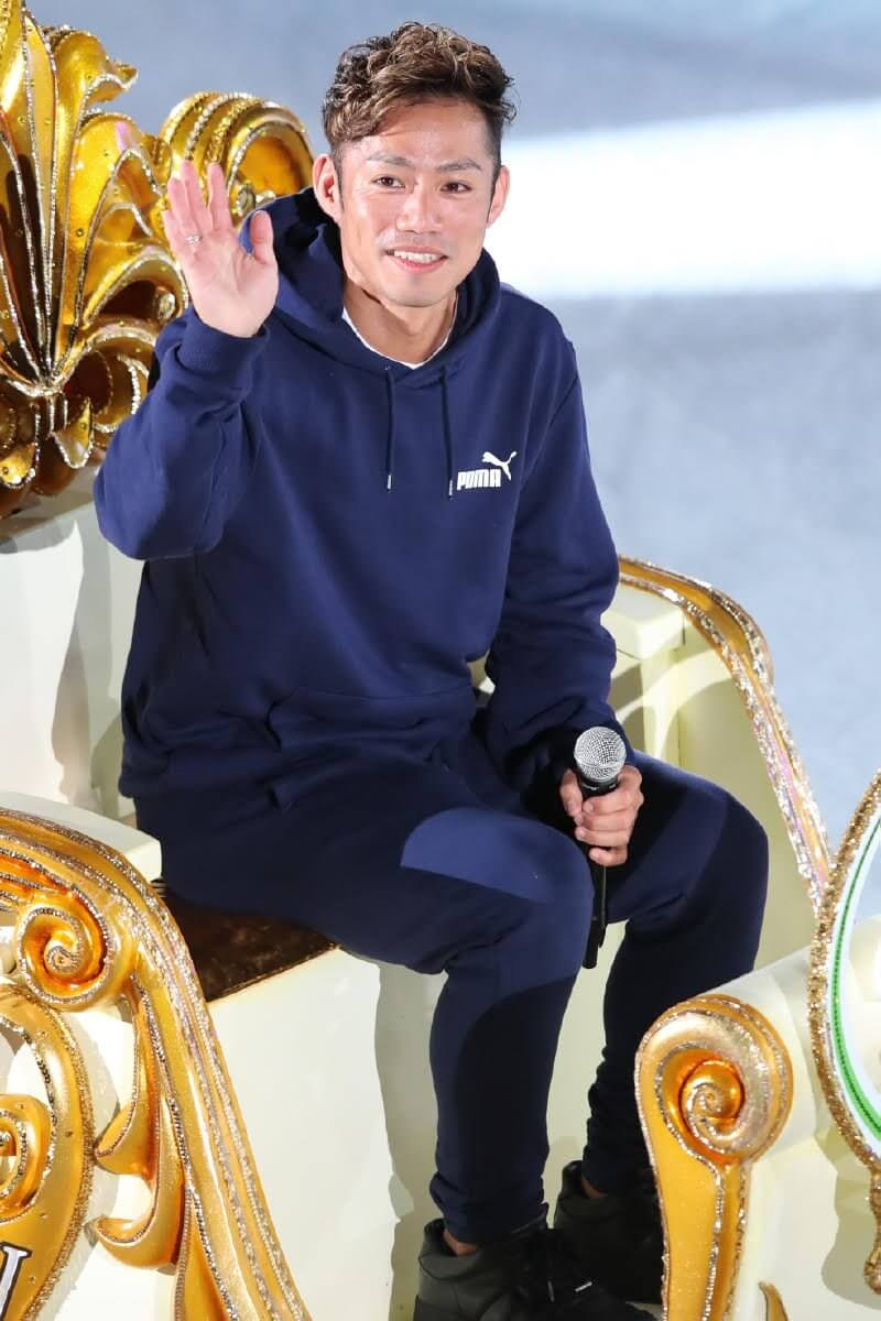 高橋大輔「きっちり治してブロック(近畿選手権)に向けて頑張っていきたい」PIW広島で挨拶!