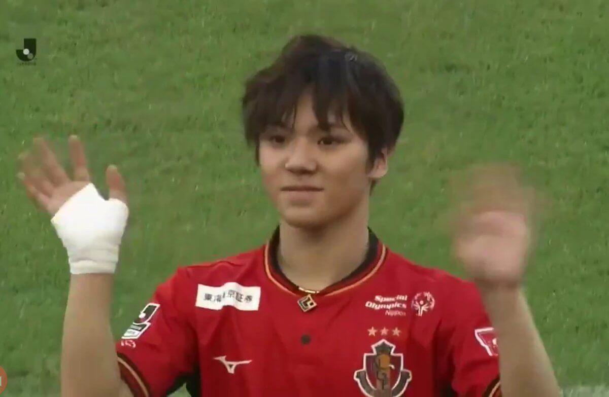 【動画有】宇野昌磨選手がグランパス戦でキックインセレモニー!グランパスは完勝!