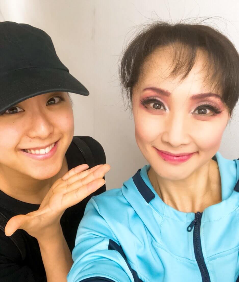 濱田めぐみさんが浅田真央さんとのツーショットを公開!