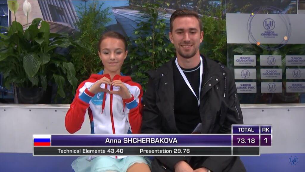 JGP第1戦、スロバキア大会女子SP結果まとめ!シェルバコワが女子唯一の70点越え!