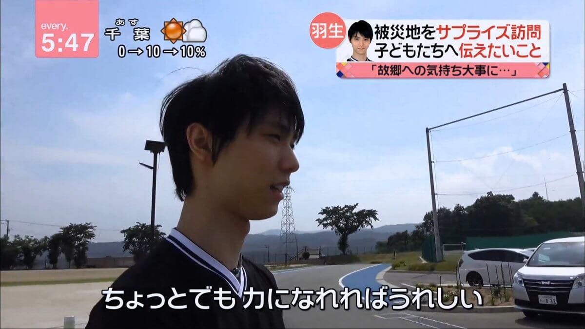 【動画有】羽生結弦 バンデス独占インタビュー/everyの特集 まとめ