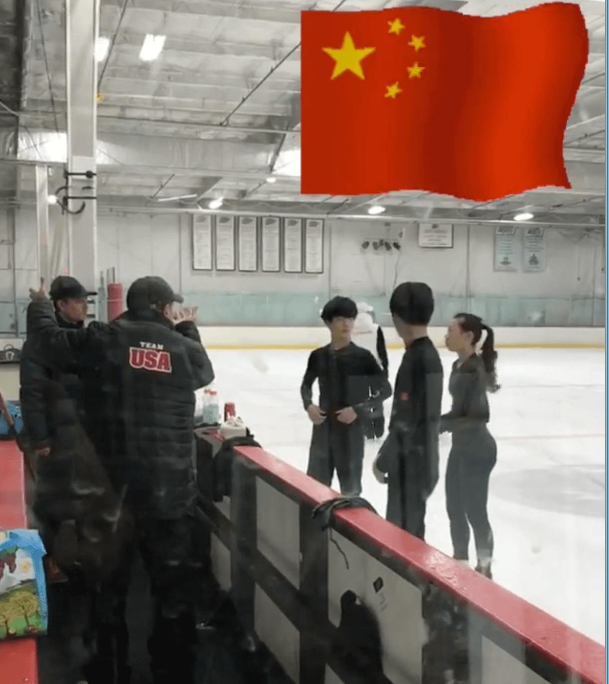チームラファのリンクに中国チームが練習に!中国の北京五輪への力の入れ方が凄い!