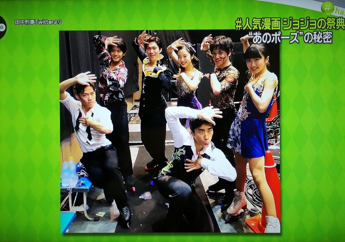 ZEROのジョジョ展特集で、ジョジョ立ちするPIWのメンバーの写真が紹介!