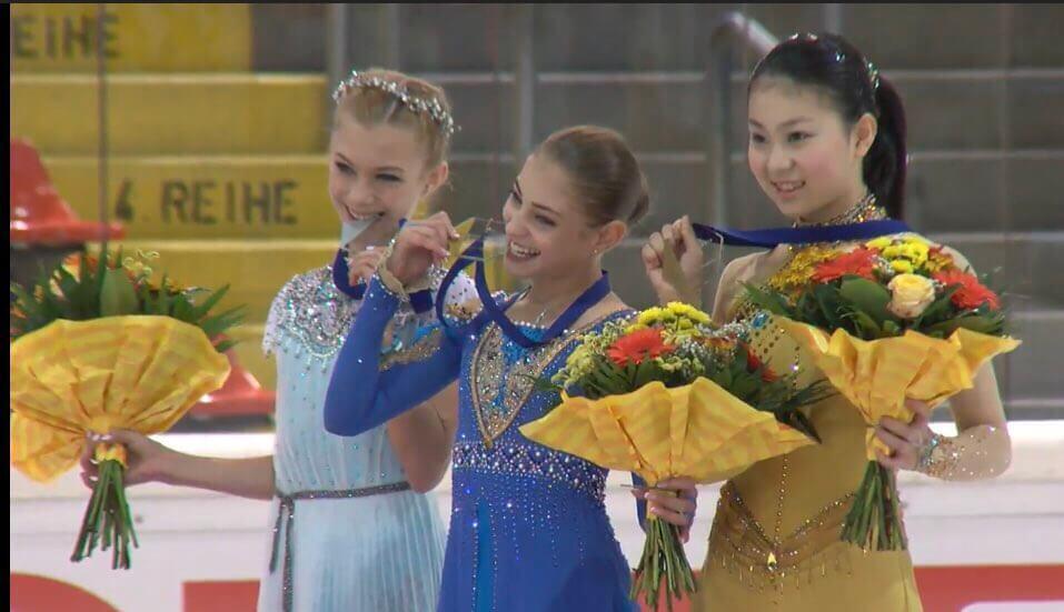 JGP第2戦オーストラリア大会 女子最終結果! ロシア女子が1、2フィニッシュ!