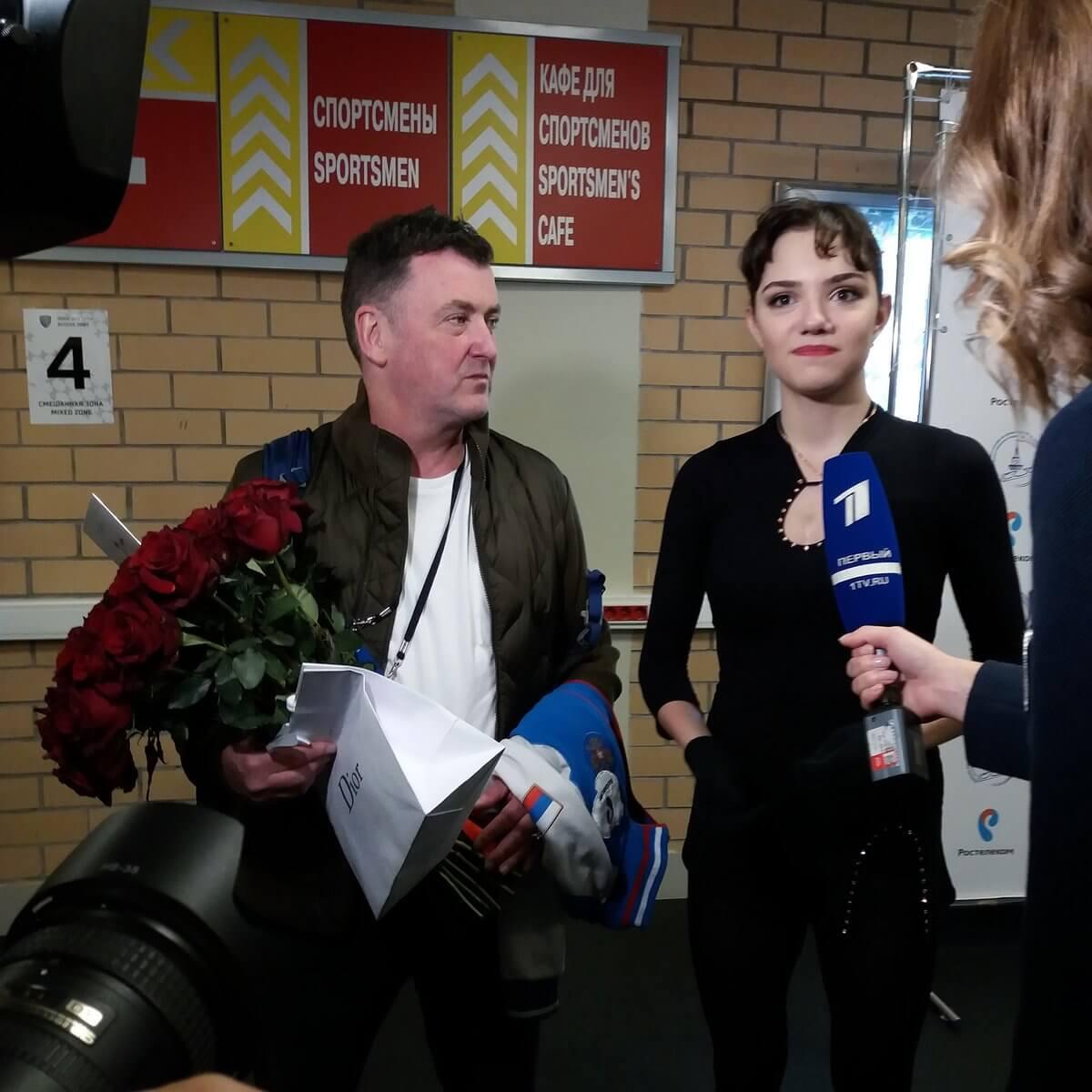 テストスケート後のメドベージェワ、ザギトワのインタ、画像まとめ!