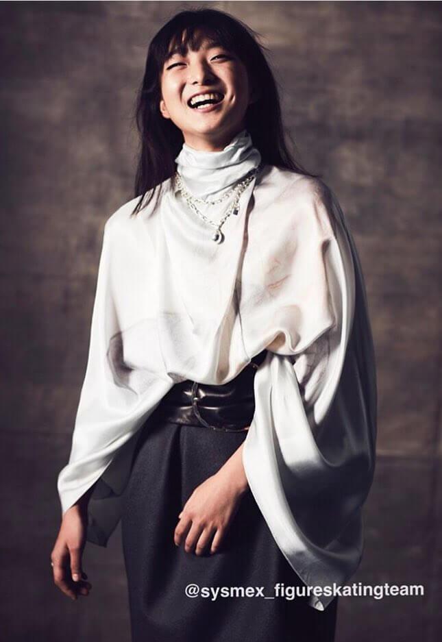 『GQ JAPAN』15周年号に坂本花織のインタビューを掲載!かっこいい写真が公開!