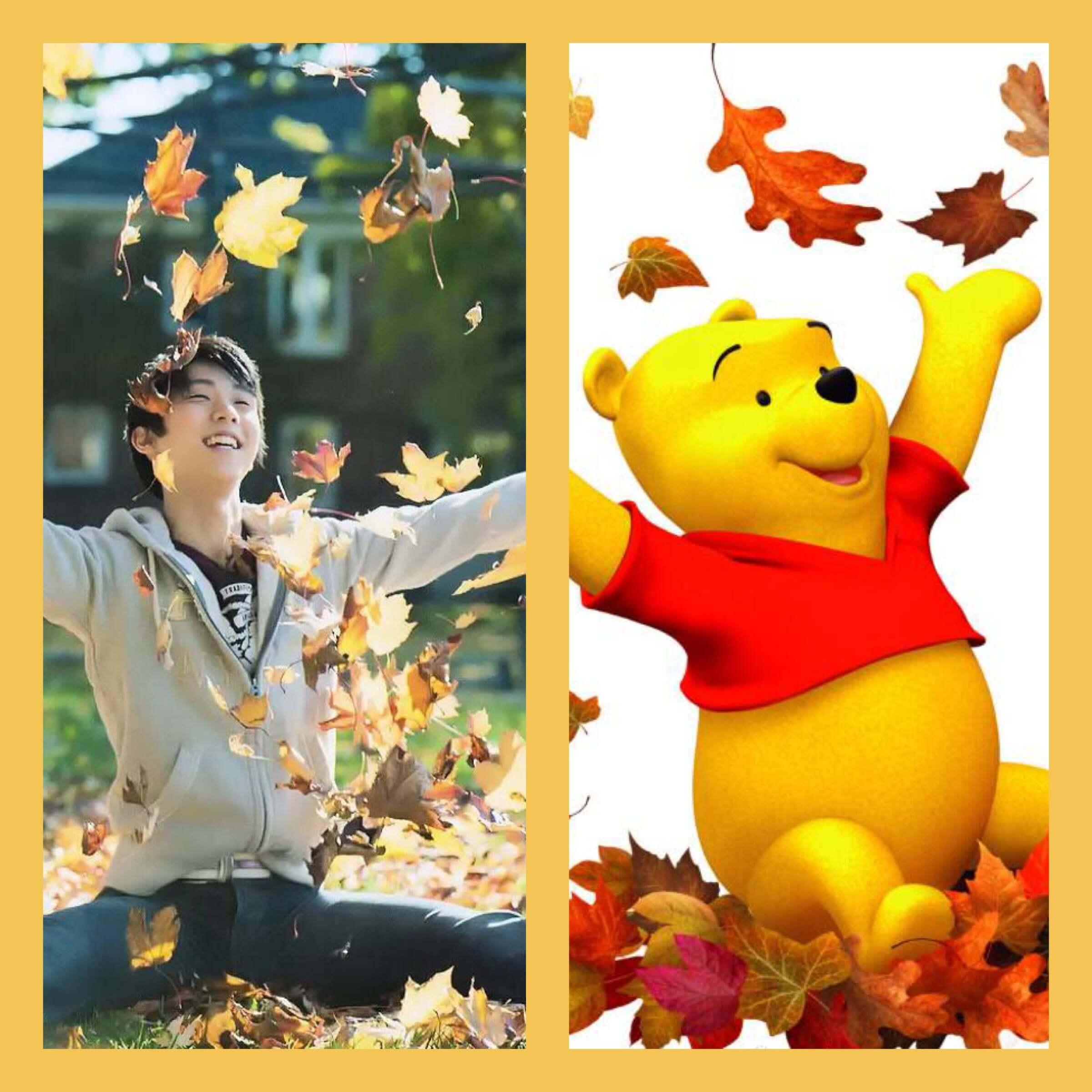 【羽生結弦画像】すっかり秋だね→完全に一致w
