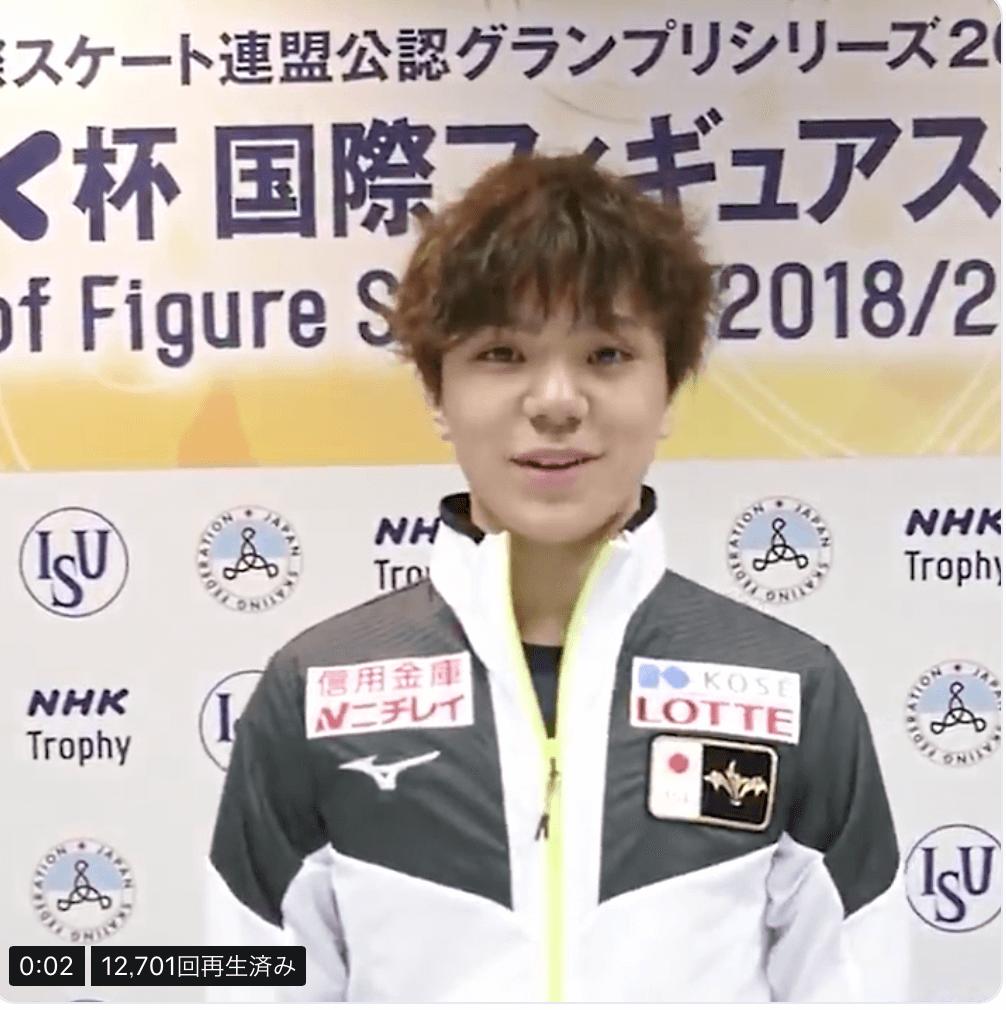 NHK杯出場の日本人選手のコメントメッセージ動画まとめ!
