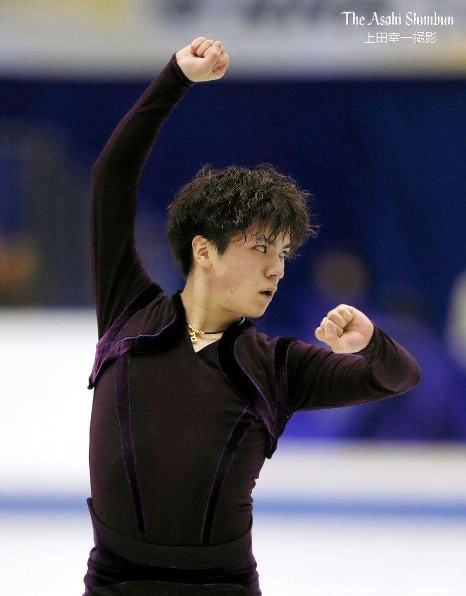 【速報】NHK杯 男子SP結果まとめ! 宇野昌磨がSP1位発進!