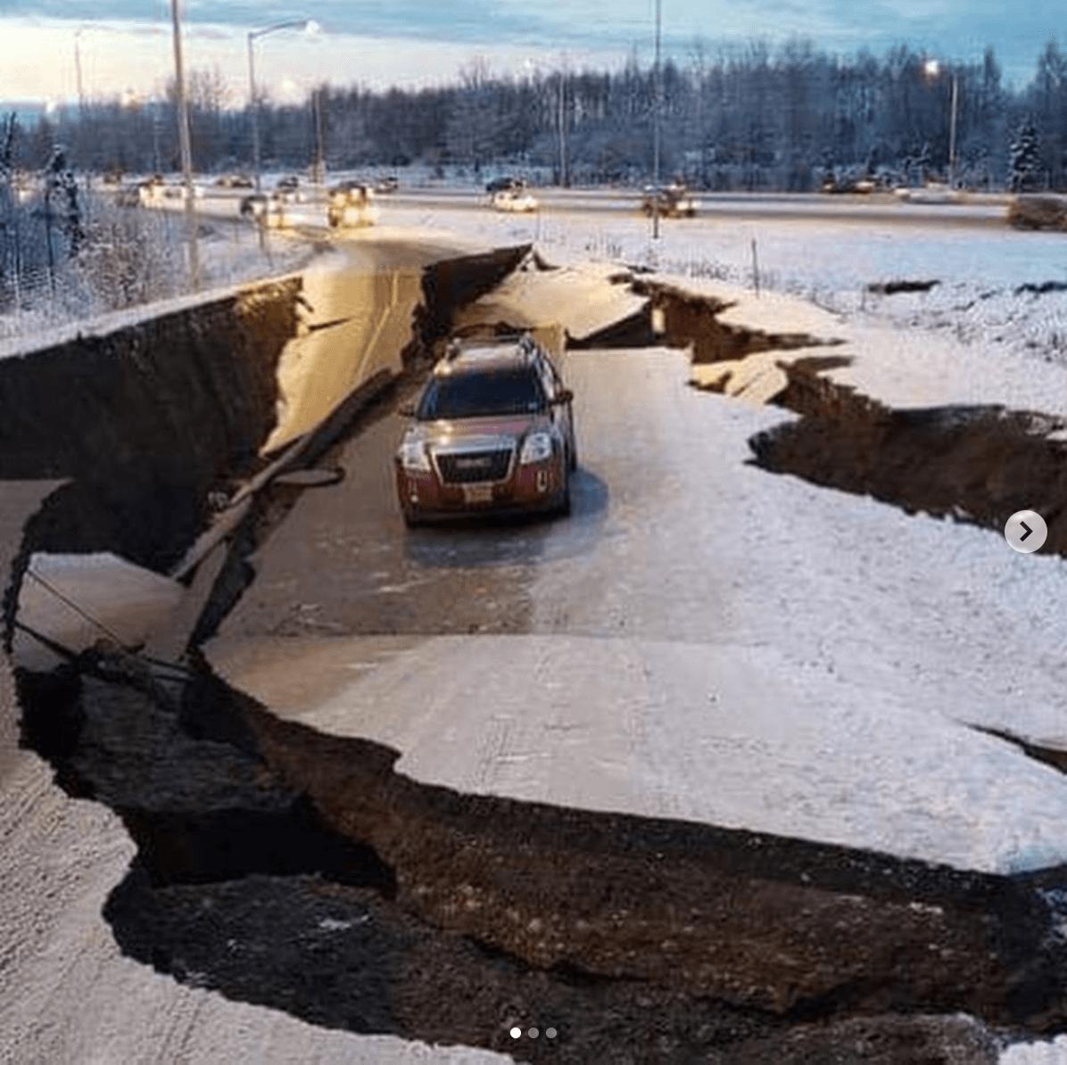 アラスカでM7.0の大地震が発生。キーガンは無事を報告。練習は厳しそう。。
