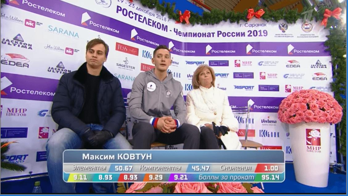 ロシア選手権男子SP結果まとめ!