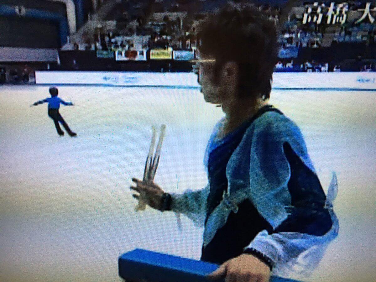 宇野昌磨がフラワーボーイをしていた時の映像が!