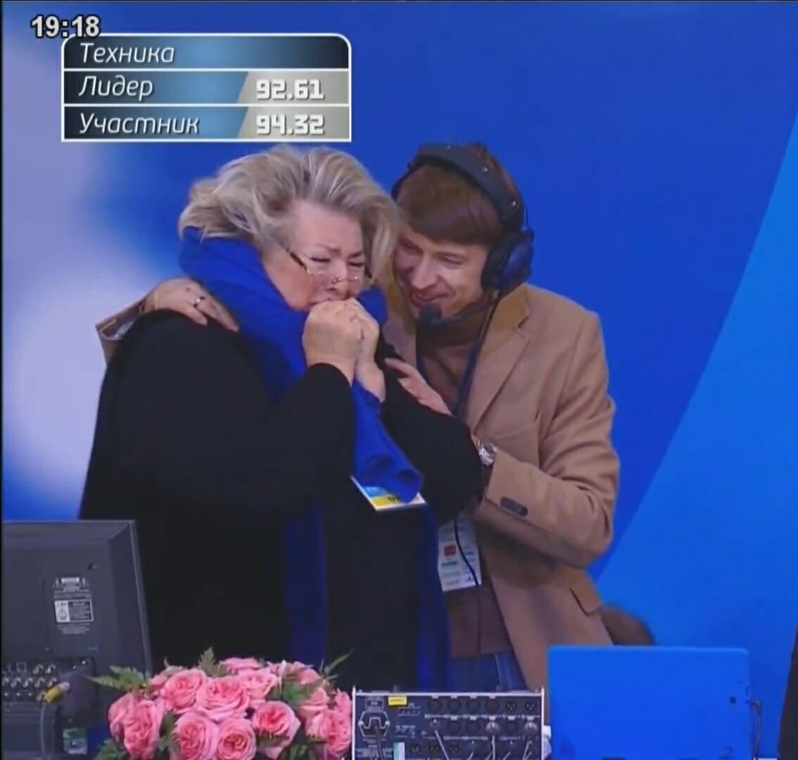 コフトンのFS演技にタラソワが歓喜の涙!感動すると話題に!