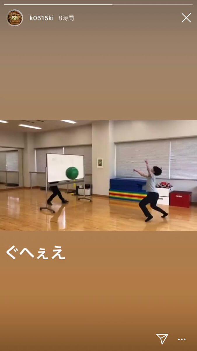 友野一希と宇野昌磨のウォーミングアップ映像!顔面レシーブww